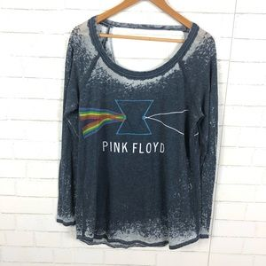 NEW Chaser Pink Floyd Open Back Graphic Tee